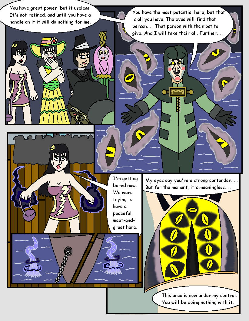 The Nine Eyes, Page 9