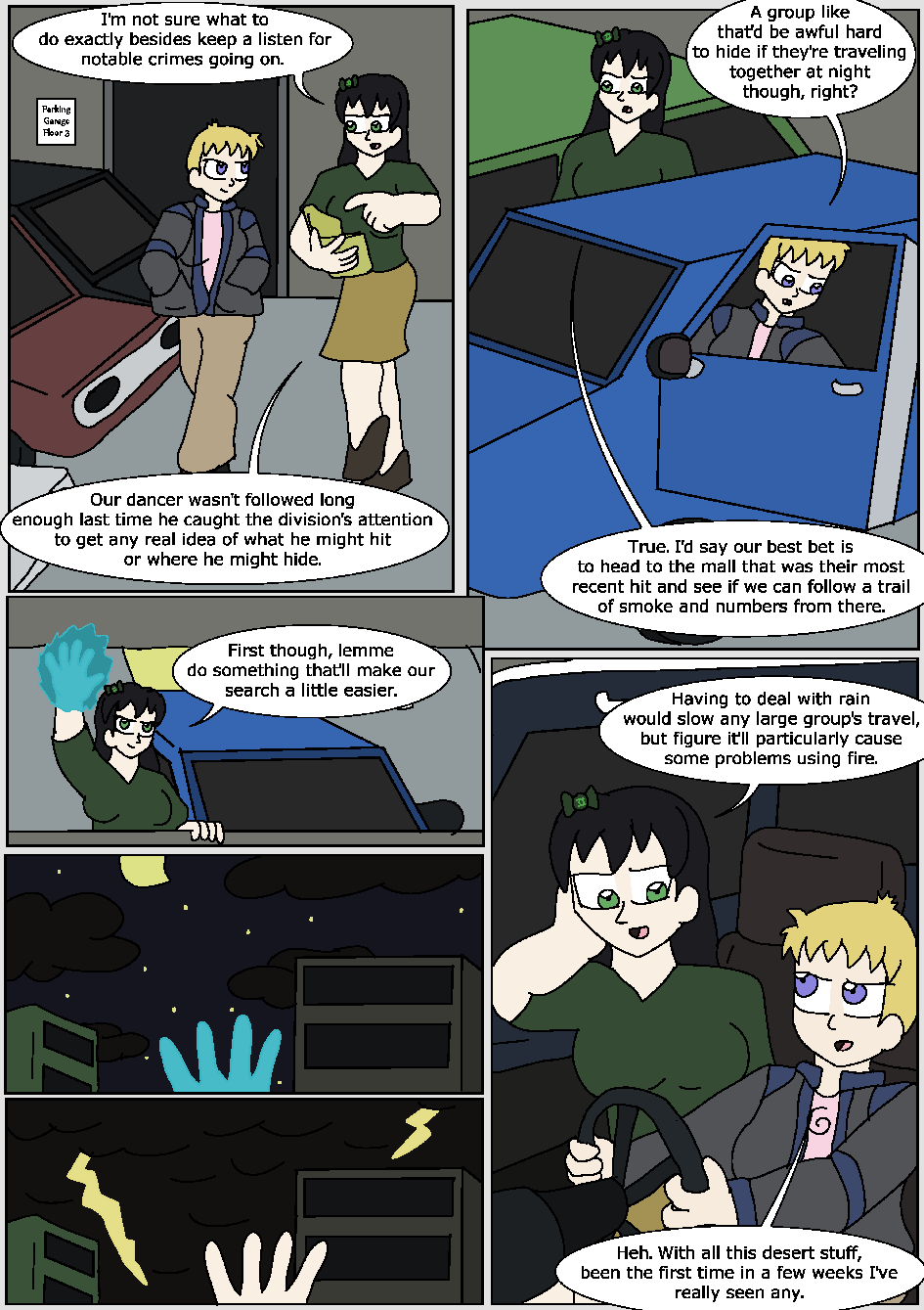 The Hidden Flame, Page 5