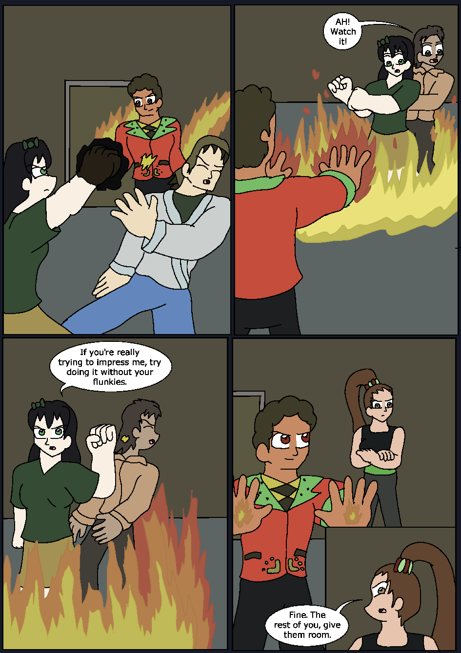The Hidden Flame, Page 14
