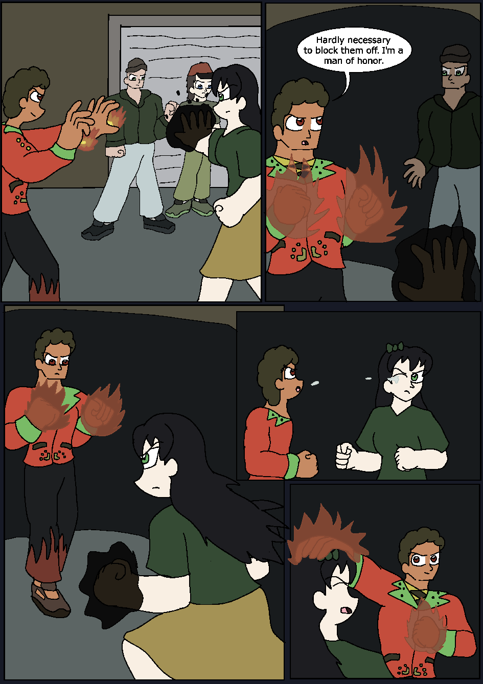 The Hidden Flame, Page 15