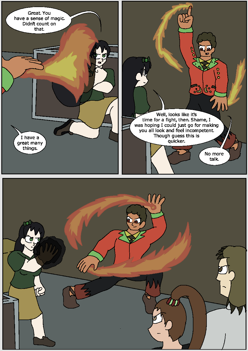The Hidden Flame, Page 11