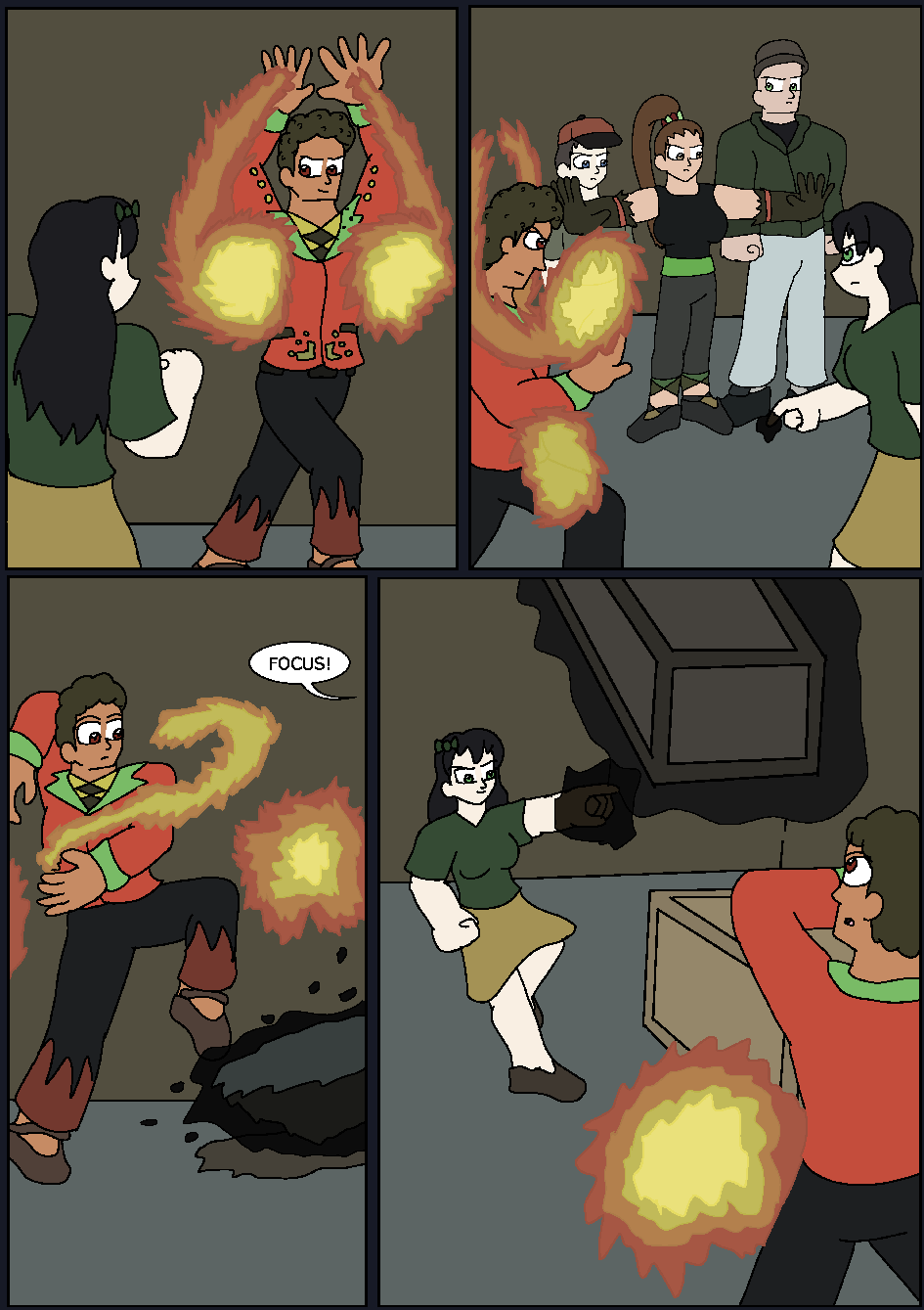 The Hidden Flame, Page 12