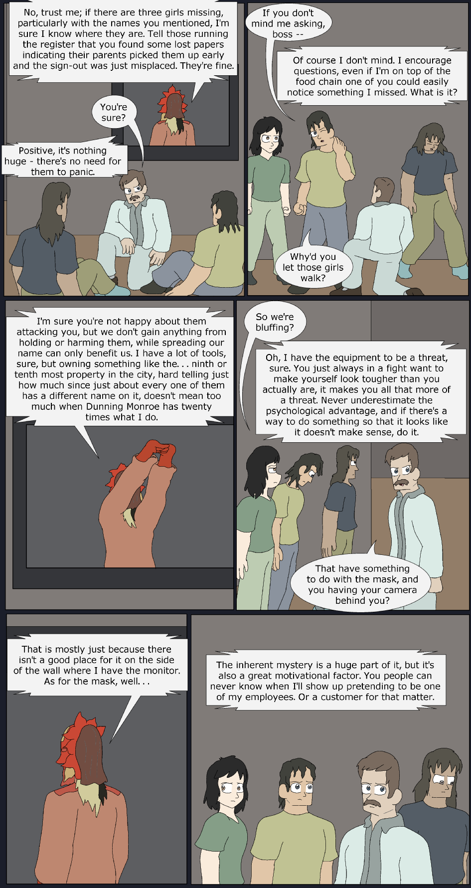 A Time For Play, Page 28