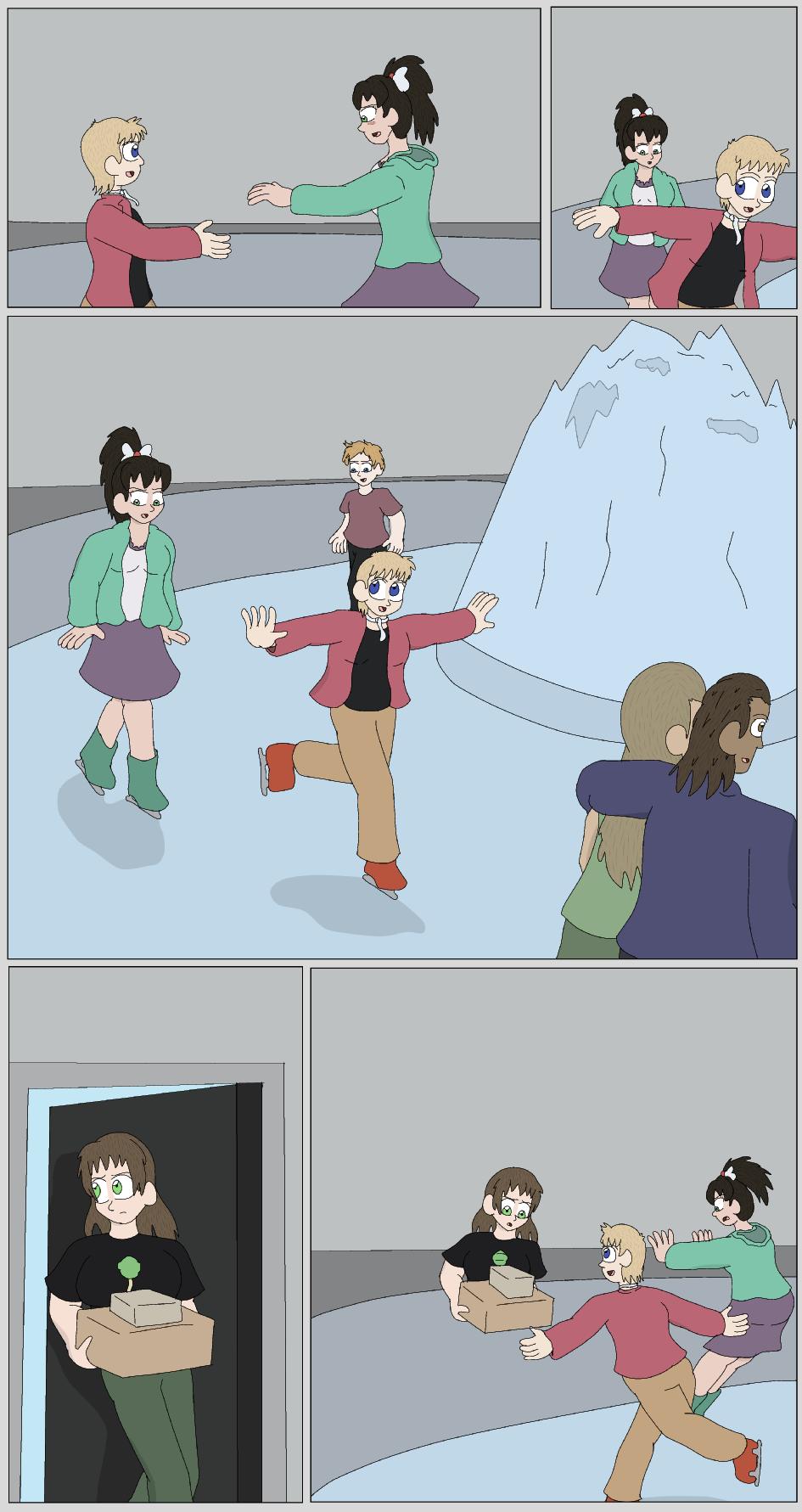 The Black Princess... On Ice!, Page 12