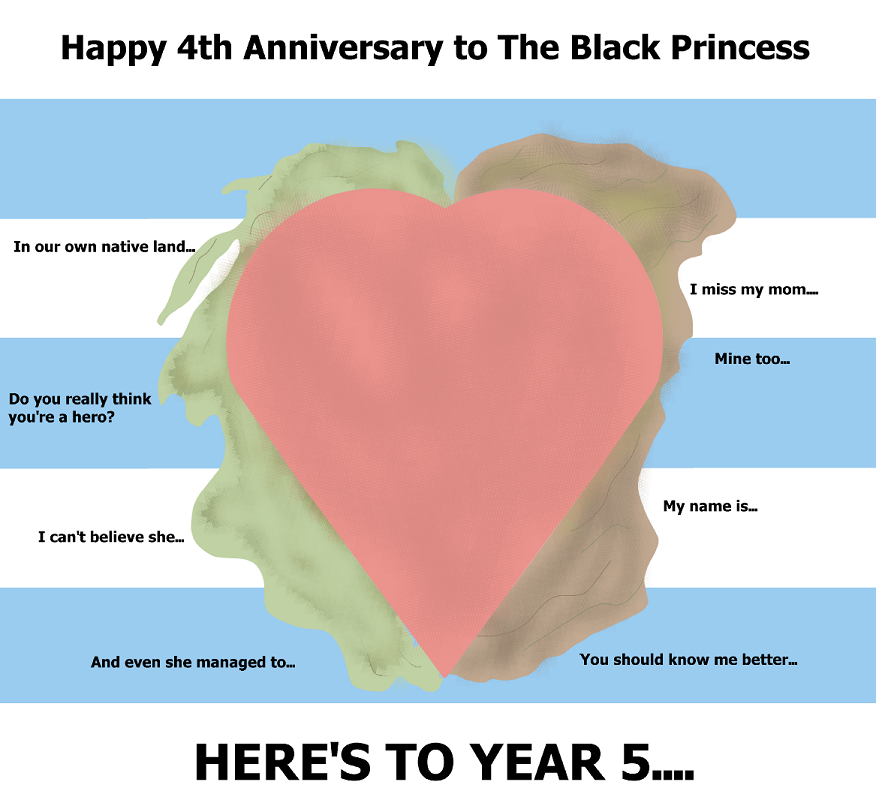 The Black Princess Year 5 Preview