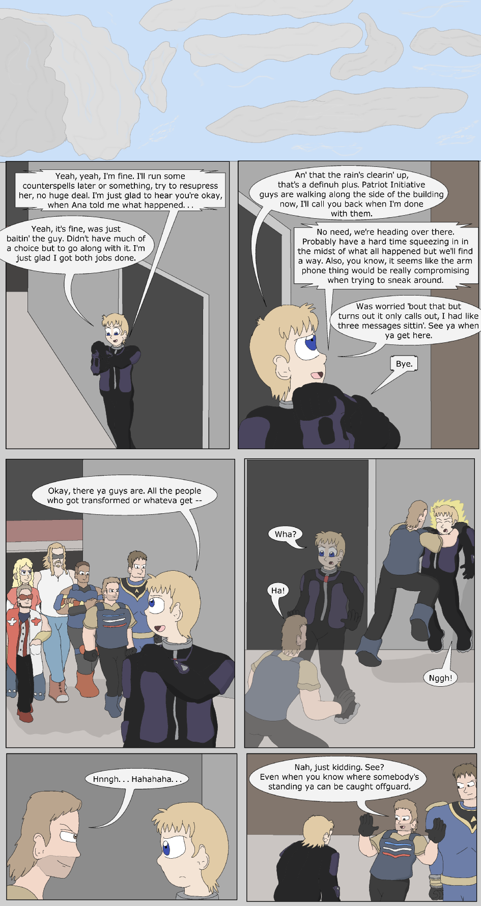 The Fast Life, Page 24
