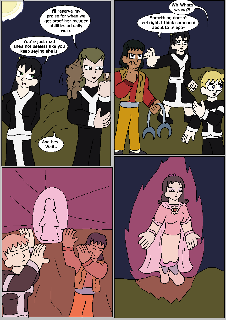 The Moon Prince, Page 8